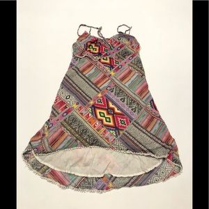 🍎 Billabong colorful summer dress Cotton S
